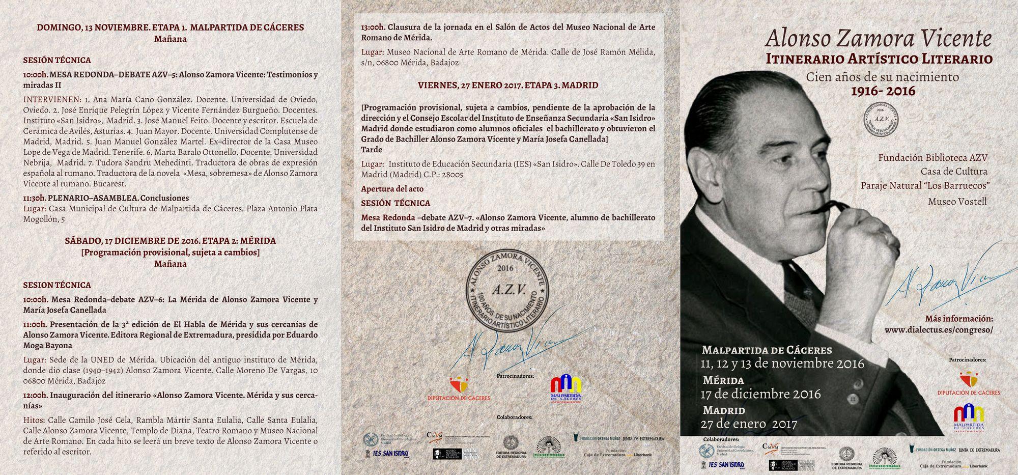 02-programa-alonso-zamora-vicente-11-al-13n-2016-itinerario-artistico-literario