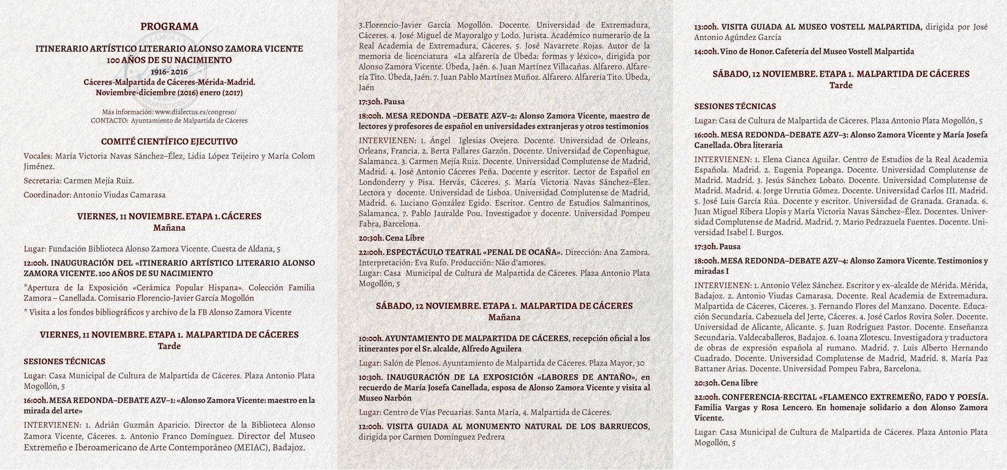 03-programa-alonso-zamora-vicente-11-al-13n-2016-itinerario-artistico-literario